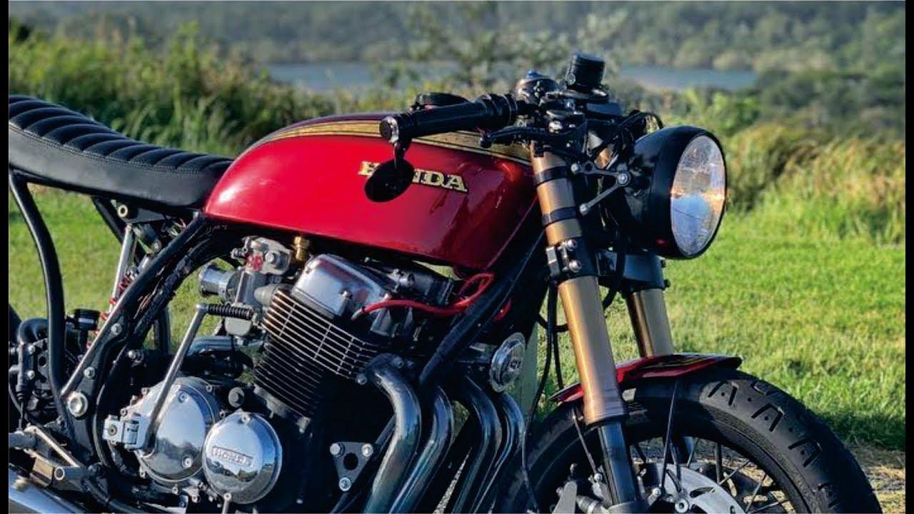 Hell Kustom : Honda CB750 By Origin8or Custom Motorcycles