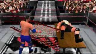 WWF Smackdown! 2 AJ Styles vs Christopher Daniels