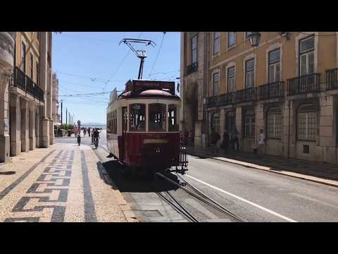 Lisbon tourist view 2017