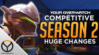 Overwatch Competitive Season 2: All Changes Explained
