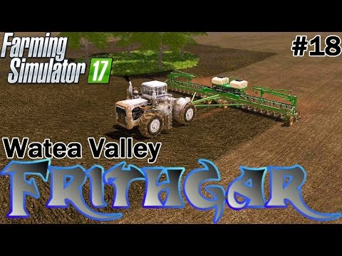 Let's Play Farming Simulator 2017, Watea Valley #18: Great Plains 18m Seed Drill!