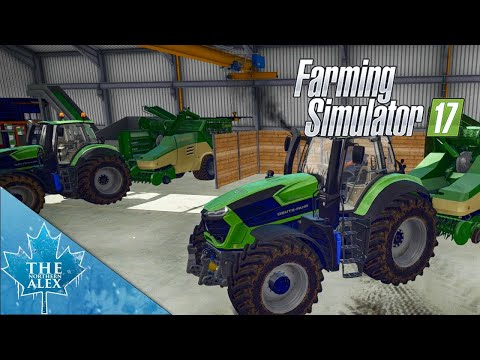 Farming Simulator 17 Straw Addon 1/1 Overview and Direct Pelletizing