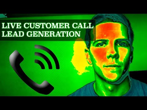 Selling PPC Lead Generation Services – Live Sales Call $$$