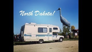 North Dakota: Day in the Life, Setting Up Camp, and MPG