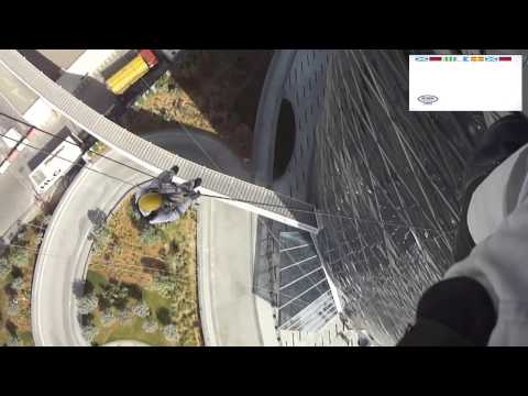 My Rope access video @ capital gate,abudhabi