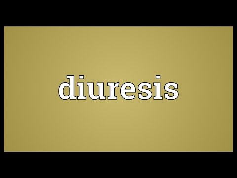 Diuresis Meaning