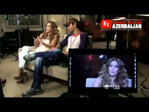 JLo, Enrique Iglesias Good Morning America Video July 17, 2012 Interview with Amy Robach