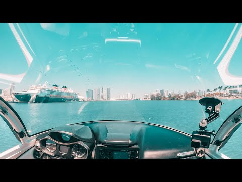 ICON A5 Aircraft Water Landing in Miami