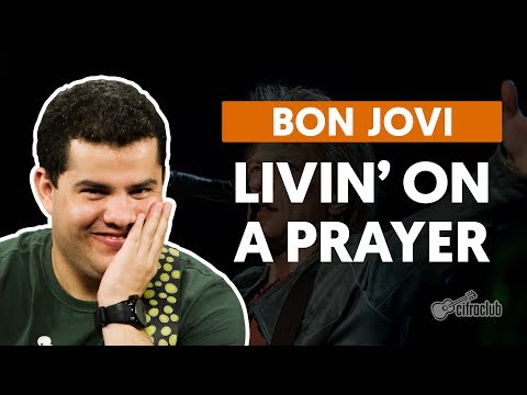 Livin' On A Prayer - Bon Jovi (aula de guitarra)