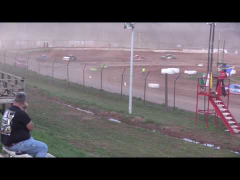 Midway Speedway 4 Cylinder Feature 4-9-17