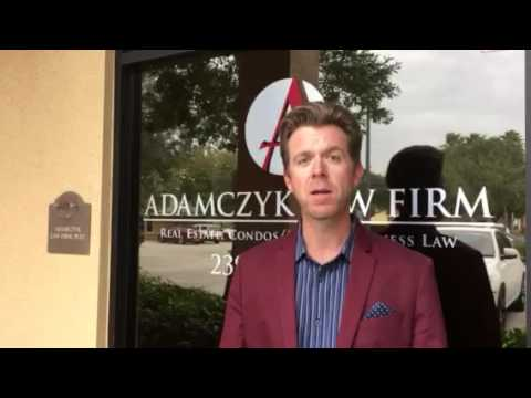 Best Community Association Lawyer in Naples | Adamczyk Law