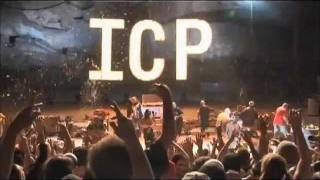 Insane Clown Posse-If I was a Serial Killa-Live with whole Hatchet Family on stage! HD
