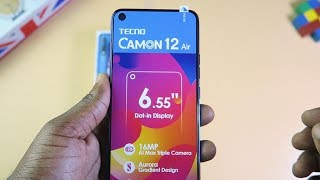 Tecno Camon 12 Air - Unboxing and Review (English)
