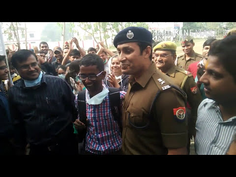 Cleaning rally with IPS Santosh Kumar Mishra by REC Ambedkar Nagar....