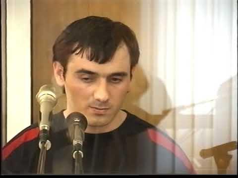 Диск 62 (Часть 2). Видеозапись суда над террористом Нурпаши Кулаевым.