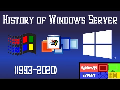 HISTORY OF WINDOWS SERVER [1993-2020]