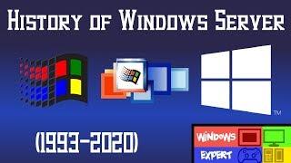 HISTORY OF WINDOWS SERVER [1993-2020]