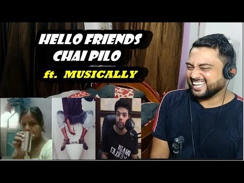 Indian Reacts to DUCKY BHAI | HELLO FRIENDS CHAI PILO MUST BE STOPPED ( MUSICALLY CRINGE )
