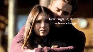 A Drop In The Ocean - Ron Pope with Lyrics (Vampire Diaries Stefan and Elena)