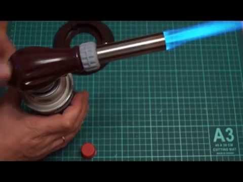 Газовый резак Kovea KT 2912 - YouTube