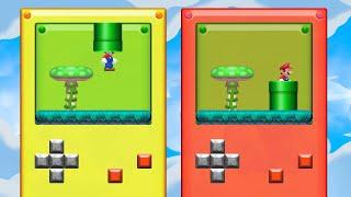 Super Mario Maker 2 - Mario Goes Into A Game Boy