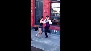 Аргентинское танго на улицах Буэнос-Айреса