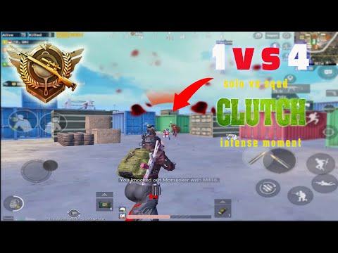 PUBG 1 vs 4 Clutch Montage | Sqad Wipe Moment | Ironic gaming