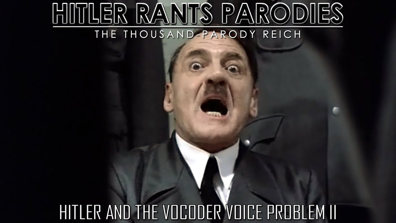 Hitler and the vocoder voice problem II