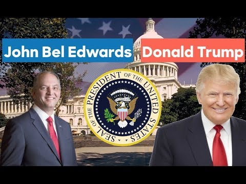 John Bel Edwards vs Donald Trump | 2020 Election Prediction