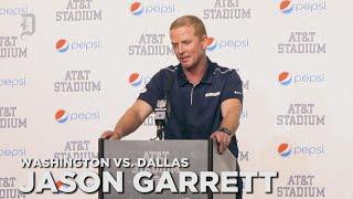 Jason Garrett on Cowboys win, future with the team as head coach