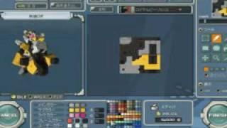オンラインロボアクションRPG 「鋼鉄戦記C21」 「ロイヤルビーゾル」PV