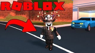 PLAYING DRESS JAILBREAK ASIMO the creator-ROBLOX