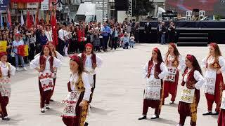 Çerkezköy 19 Mayıs folklor gÖsterisi. Video