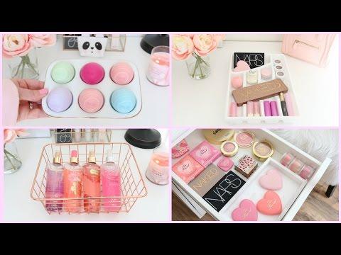 Makeup & Beauty Storage & Organization Ideas