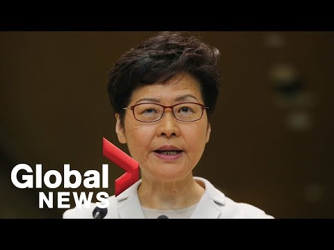 Carrie Lam says Hong Kong government will introduce 4th round of relief measures amid protests