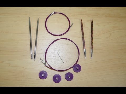Knit Picks TRY IT Needle Set Review - Options Interchangeable Circular Knitting Needles