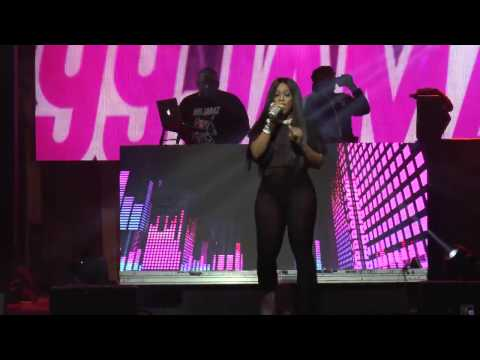 "Trina kicks off Uncensored with ""The Baddest B***h"""