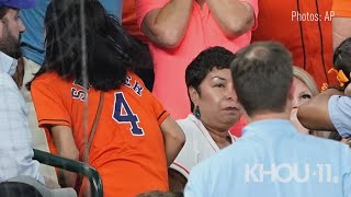 Little girl struck by line drive ball during Astros-Cubs game at Minute Maid Park