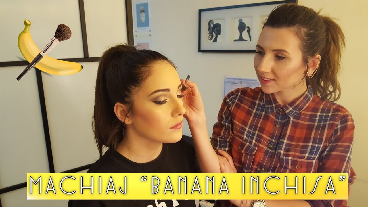 Machiaj Banana Inchisa Youtube