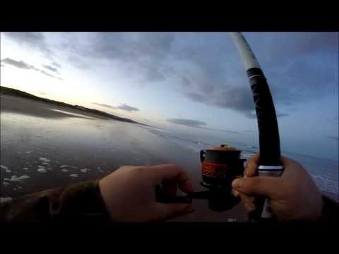 Irish beach fishing by Vtec