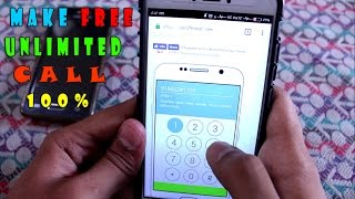 free unlimited calling without any app 100 working ( voip )