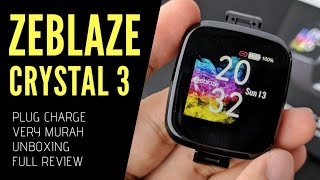 ZEBLAZE CRYSTAL 3 - Smartwatch murah dengan ip67 waterproof - Unboxing and Full Review