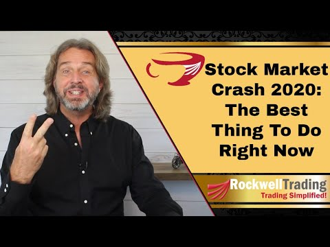 Coffee with Markus – Stock Market Crash 2020 – What To Do Right Now