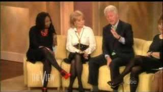 Bill Clinton on The View 9-22-2008 part 2 of 3