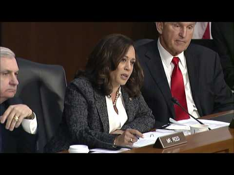 Senator Kamala Harris Questions former FBI Director James Comey