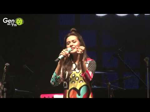 Raisa  Jatuh Hati di Gen Local Festival Vol2