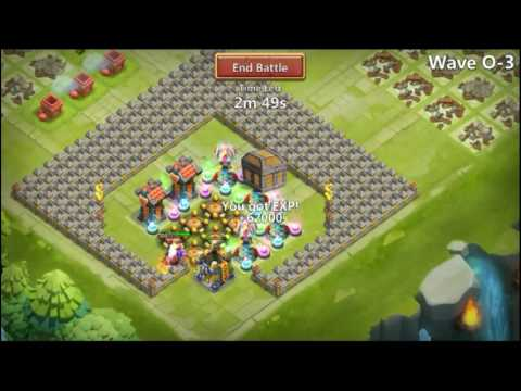 Castle Clash- HBM O With Only Santa Boom!!!
