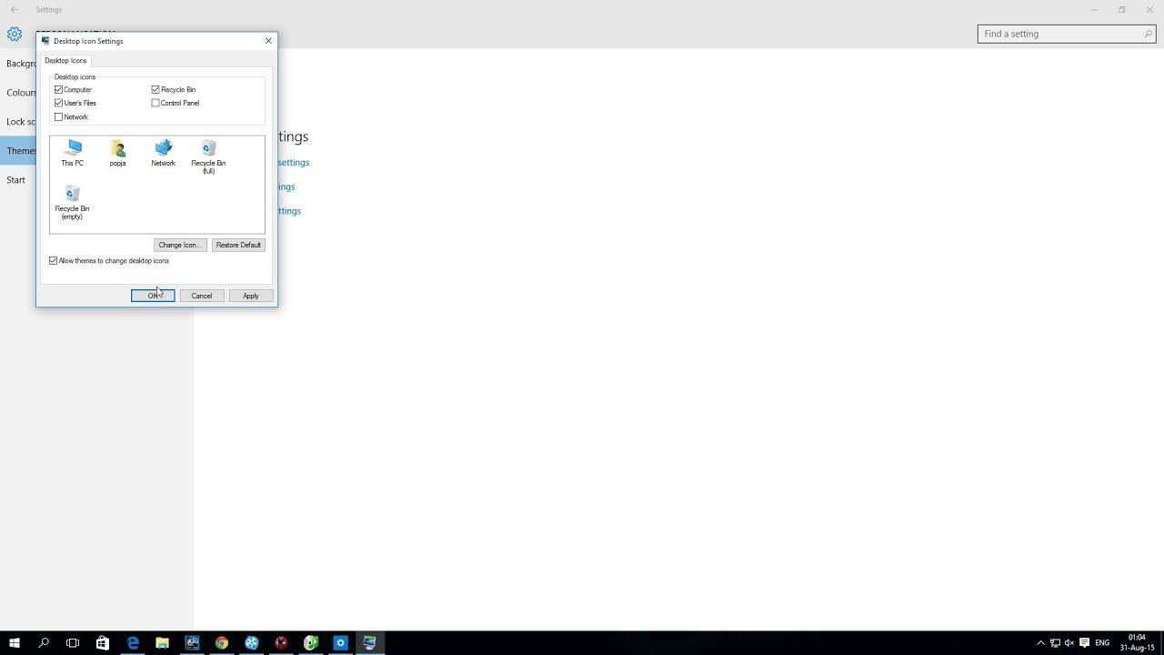 Icon My Computer Windows 10