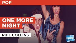 One More Night : Phil Collins | Karaoke with Lyrics