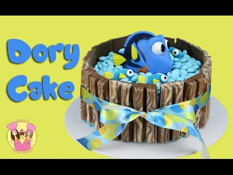 FINDING DORY KIT KAT CAKE